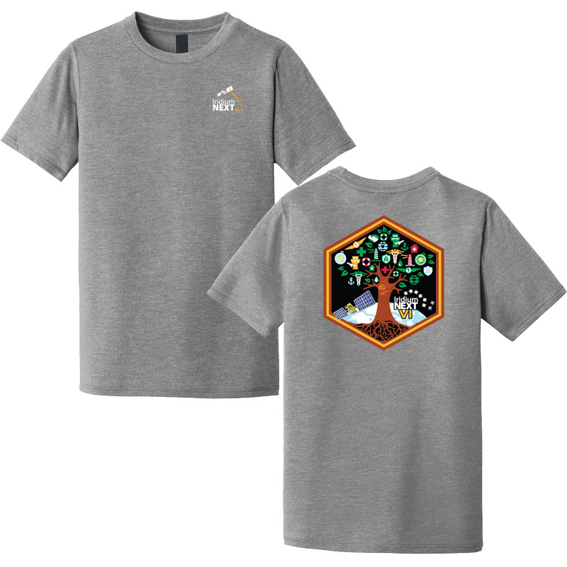 Launch Six District Made® Youth Perfect Tri® Crew Tee