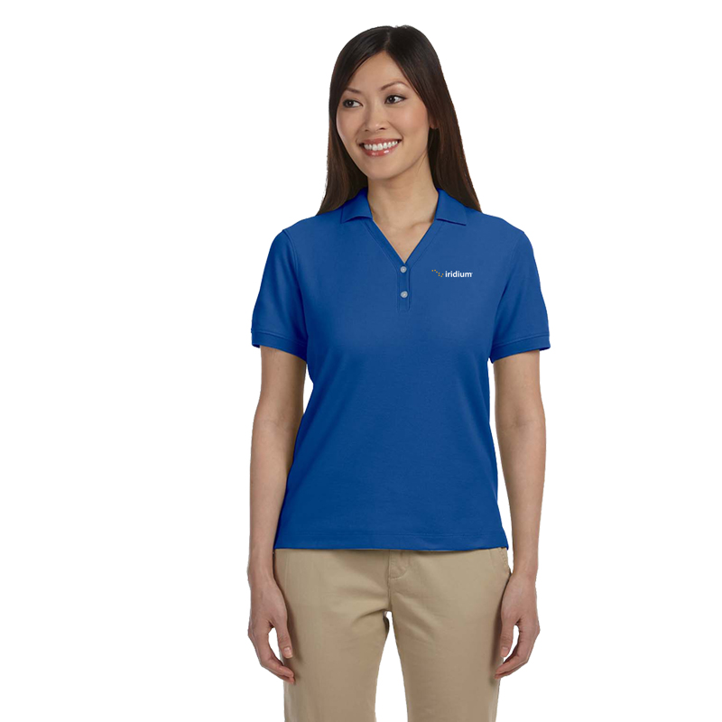 Ladies' Devon & Jones® Pima Pique Polo
