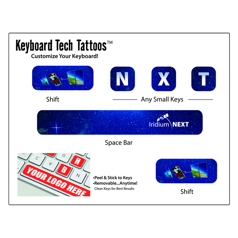 Keyboard Tech Tattoo - Personalize your technology with this keyboard tech tattoo.