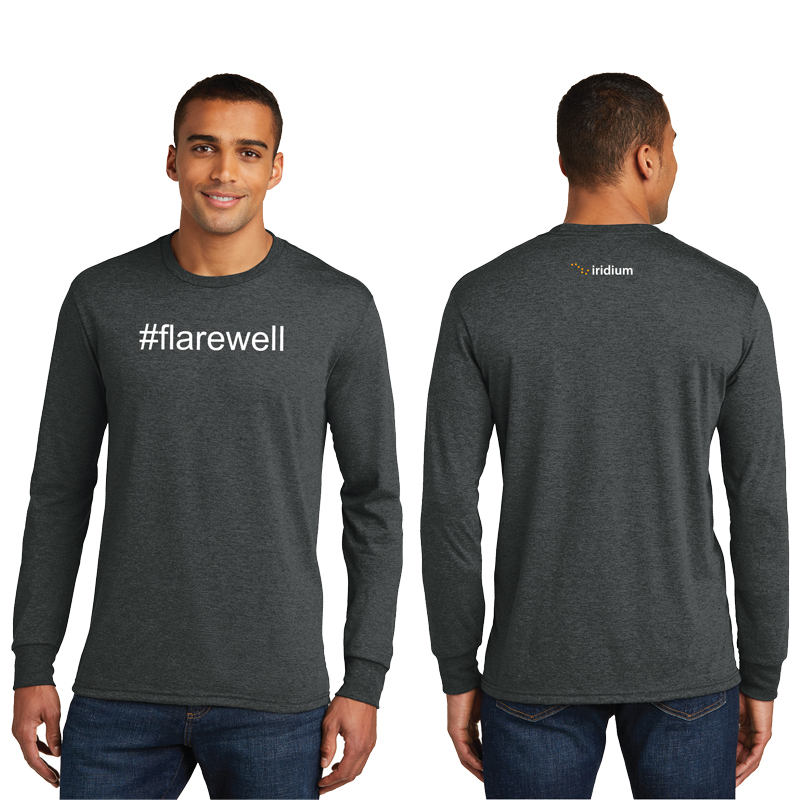 #Flarewell District Made<sup>&reg;</sup> Men's Perfect Tri<sup>&reg;</sup> Long Sleeve Crew Tee