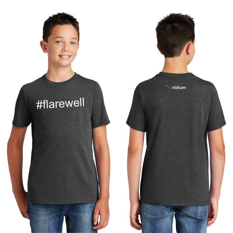 #Flarewell District Made<sup>&reg;</sup> Youth Perfect Tri<sup>&reg;</sup> Crew Tee