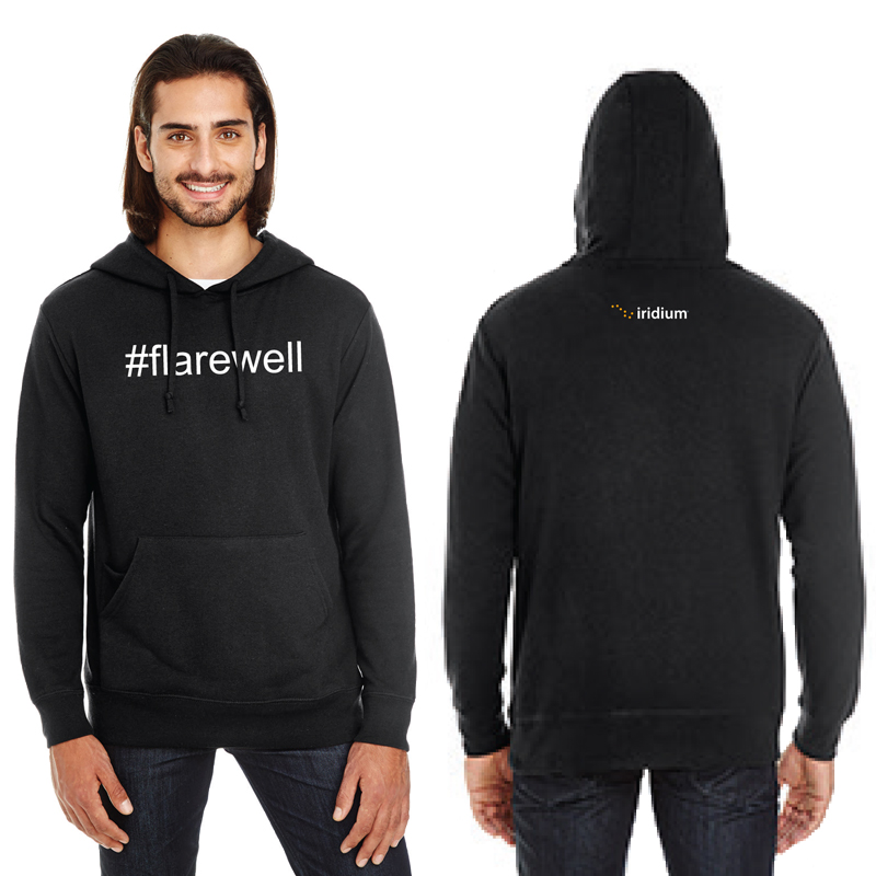 #Flarewell Threadfast Apparel Unisex Tri-Blend French Terry Hoodie