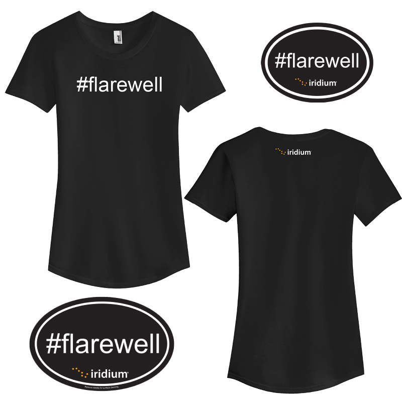 #Flarewell Ladies' Kit