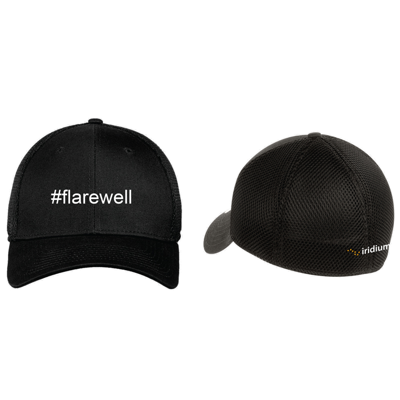 #Flarewell New Era® Stretch Mesh Cap