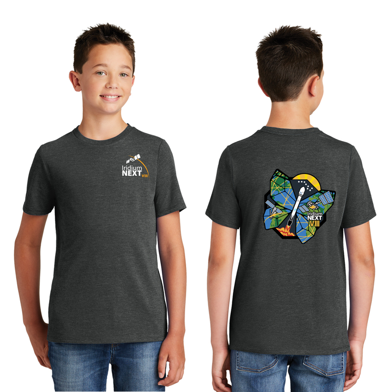 Launch Eight District Made<sup>&reg;</sup> Youth Perfect Tri<sup>&reg;</sup> Crew Tee