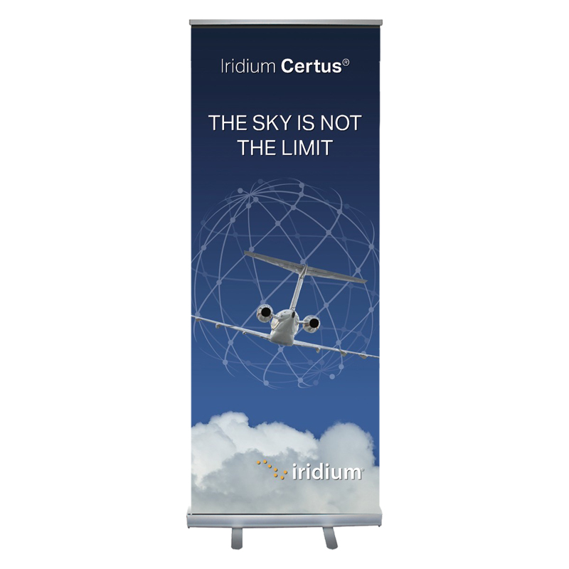 "Standard Retractable Banner - 33"" x 81"""
