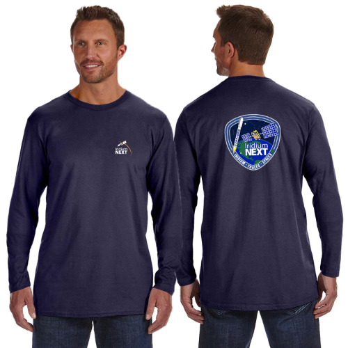 Launch One Hanes 4.5 oz., 100% Ringspun Cotton nano-T® Long-Sleeve T-Shirt