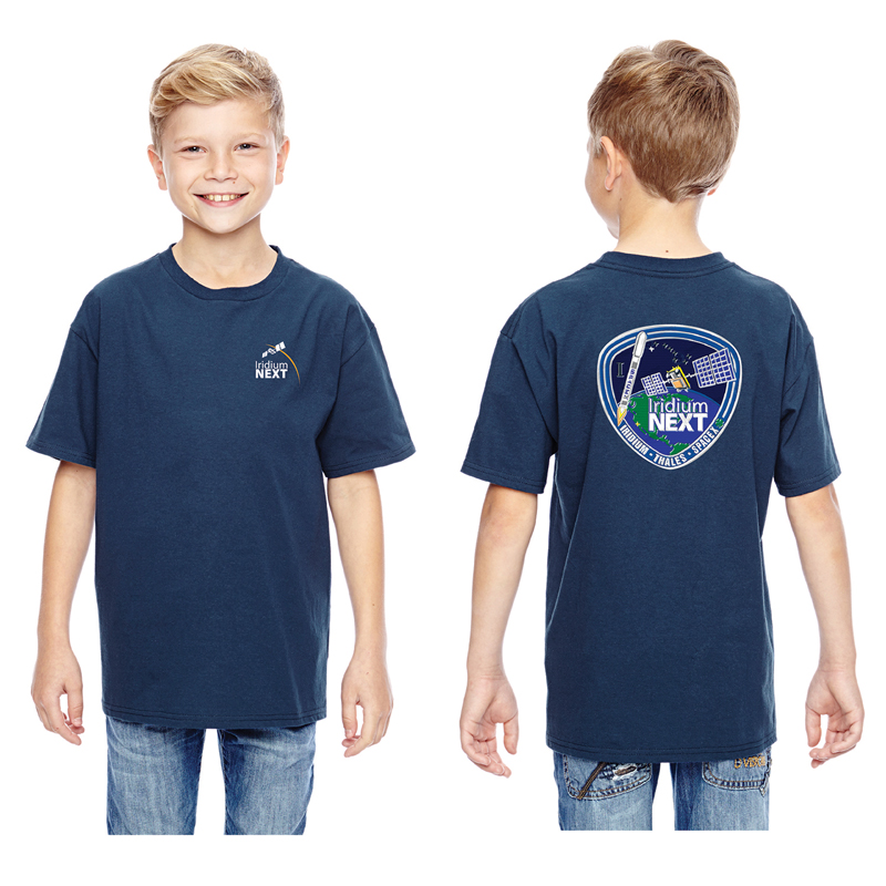 Launch One Hanes Youth 4.5 oz., 100% Ringspun Cotton nano-T® T-Shirt