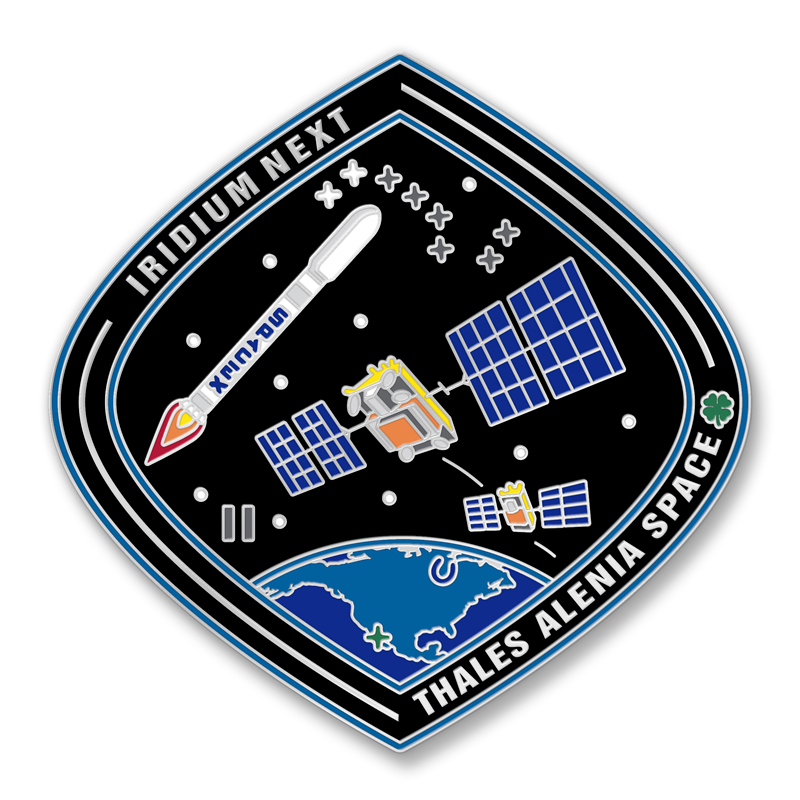 Launch Two Lapel Pin