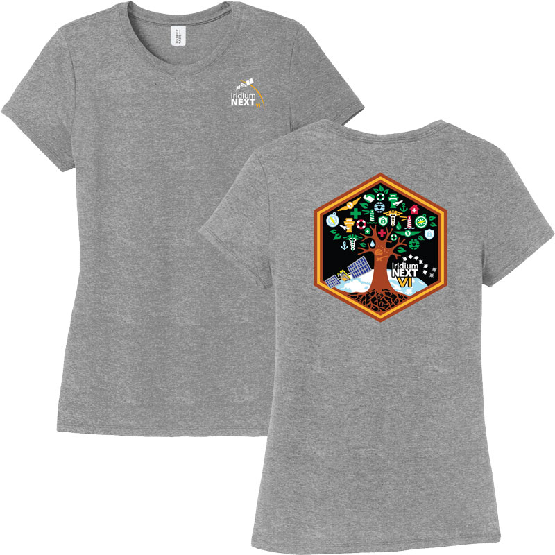 Launch Six District Made® Ladies' Perfect Tri® Crew Tee
