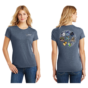 Iridium NEXT Launch Program District Made® Ladies' Perfect Tri® Crew Tee - The perfect comfy tee crafted from three yarns for carefree style.