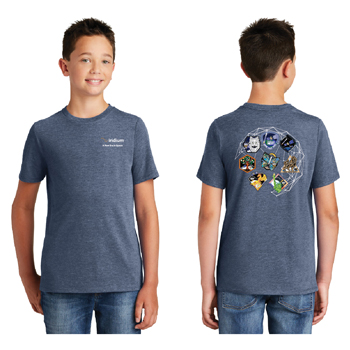 Iridium NEXT Launch Program District Made® Youth Perfect Tri® Crew Tee - This tee is perfectly soft, comfortable, and lightweight.
