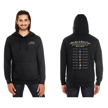 A New Era in Space Tour Threadfast Apparel Unisex Triblend French Terry Hoodie - Unisex Tri-Blend hoodie.