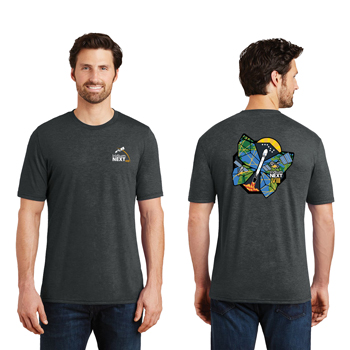 Launch Eight District Made<sup>&reg;</sup> Men's Perfect Tri<sup>&reg;</sup> Crew Tee - Three yarns form the perfect blending of softness and an easygoing look.