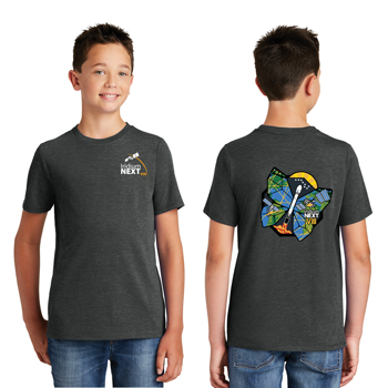 Launch Eight District Made<sup>&reg;</sup> Youth Perfect Tri<sup>&reg;</sup> Crew Tee - This tee is perfectly soft, comfortable, and lightweight.