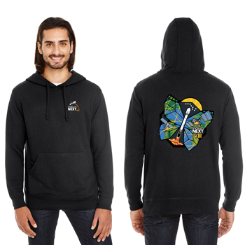 Launch Eight Threadfast Apparel Unisex Tri-Blend French Terry Hoodie - Unisex Tri-Blend hoodie.