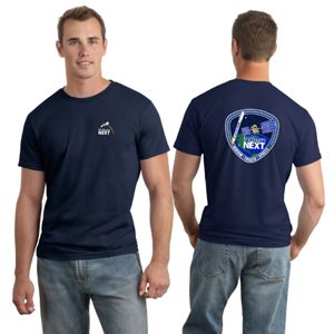 Launch One Hanes 4.5 oz., 100% Ringspun Cotton nano-T® T-Shirt - Hanes 4.5 oz., 100% Ringspun Cotton nano-T® Launch T-Shirt