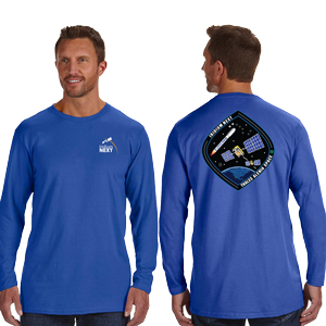 Launch Two Hanes 4.5 oz., 100% Ringspun Cotton nano-T® Long-Sleeve T-Shirt - Hanes 4.5 oz., 100% Ringspun Cotton nano-T® Long-Sleeve Launch T-Shirt