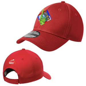 Launch Four New Era® Adjustable Structured Cap - A hook and loop adjustable strap means this cap offers a comfortably snug fit.
