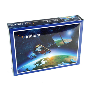 "19.75"" x 28"" 1000 Piece Jigsaw Puzzle - 19.75"" x 28"" 1000 piece jigsaw puzzle with the Iridium Satellite image."