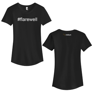 #Flarewell Anvil® Ladies' Tri-Blend T-Shirt