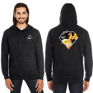 Launch Five Threadfast Apparel Unisex Tri-Blend French Terry Hoodie - Unisex Tri-Blend hoodie.