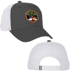 Launch Six U-Surpass Ballcap - The two-tone Surpass Ballcap features trendy mesh-knit side and back panels, a pre-curved peak, and snapback closure.