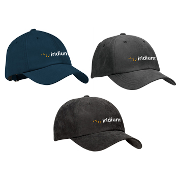 Port Authority® Sueded Cap - Get the sophisticated look of a sueded cap with the ultra-softness of Tactel® nylon fabric.