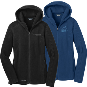 Ladies' Eddie Bauer® Hooded Full-Zip Fleece Jacket - This super soft and warm jacket is as comfortable as it gets for fall hikes and everyday excursions.
