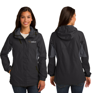 Ladies' Port Authority® Cascade Waterproof Jacket - For those days when the rain just won't stop.