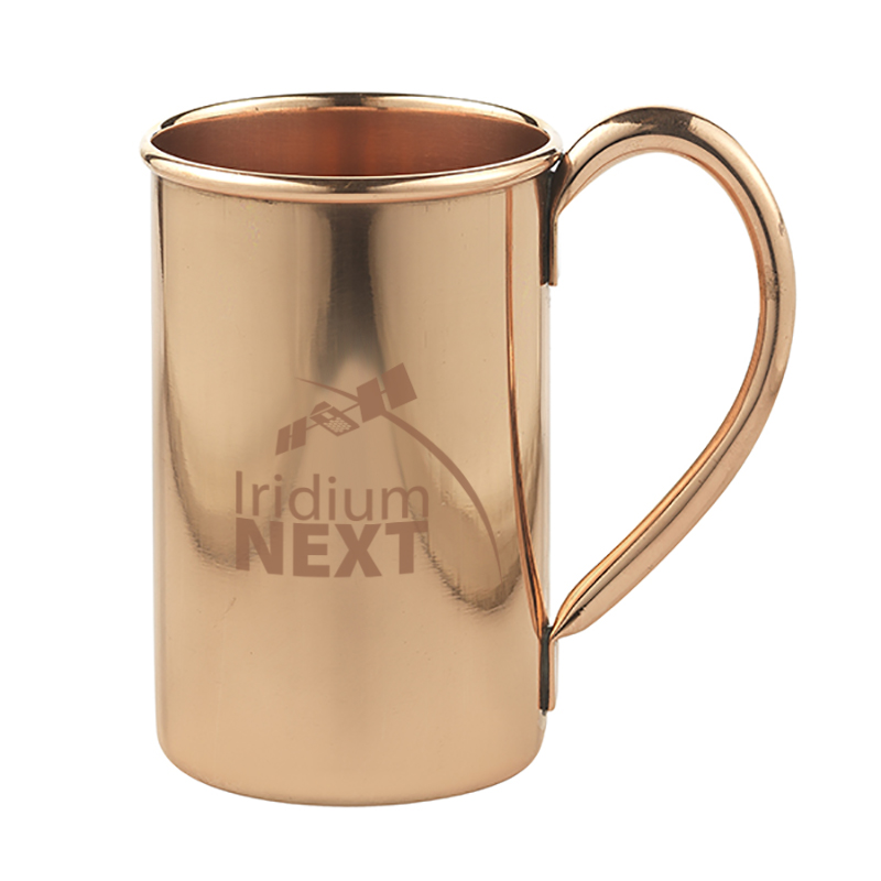 Odessa Mule - 16 oz. hand crafted, single wall copper mug.
